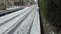 路面凍結写真